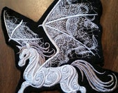 Pegasus Patch, embroidered