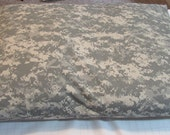RESERVED D Rivas:2 Pet Bed Duvet Covers NY/CO Ripstop Military Grey Camouflage, 35x25  & 45x32