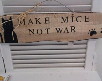 Make mice not war sign