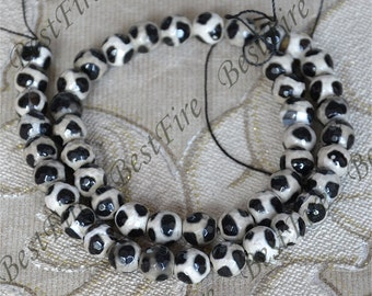 Single 8mm Faceted black agate round stone beads, gemstone Beads ,agate stone beads loose strands,agate beads findings