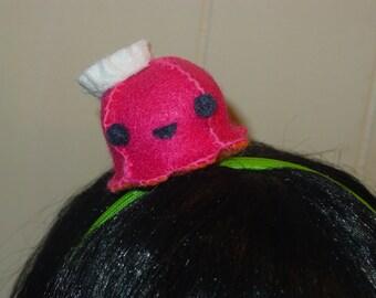 Pink Octopus Headband Fascinator
