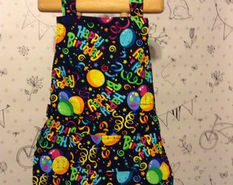 Toddler Birthday apron