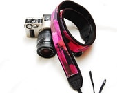 Ready to ship -  Best camera strap for DSLR -Sunset