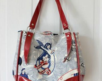Retro Sailor Charlotte City Tote