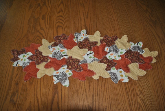 Thanksgiving Quilted Table Runner Patterns : Thanksgiving Leaves Table Runners Page Two Thanksgiving Wikii