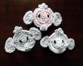 PDF Instant Download Easy Crochet Pattern No 126 Elephant Crochet Applique