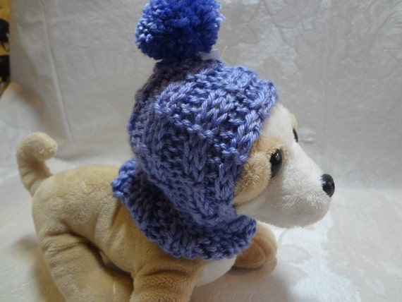 Knitting Pattern For Teacup Dog : Knitting PATTERN for Size XS to XXXS Dog Hoodie Tea Cup