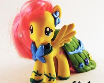 Custom My Little Pony Fluttershy in Gala Dress