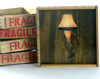 The Christmas Story - FRAGILE Art - Large with frame