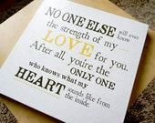Canvas - No One Else Will Ever Know    -    Baby Love Design - 5 Sizes Available