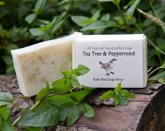 Tea Tree & Peppermint Soap
