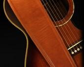 Cognac Guitar Strap, Leather Guitar Strap:  Cognac Fillmore Guitar Strap