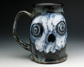 Huge Zombie Skull Tankard, Jumbo Skulls Beer Mug