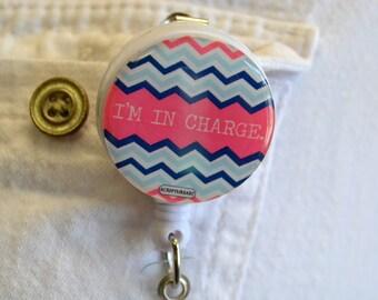 Retractable Badge Reel- Callie