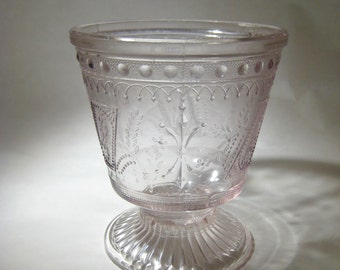 Depression Glass Vase
