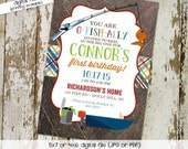 fishing camping birthday invitations baby boy shower vintage party retirement couples evite birth announcement 223 shabby chic invitations