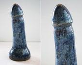 High fire fine art ceramic dildo 1017