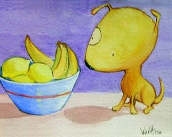 """Art Print """"Lemonhead"""""""