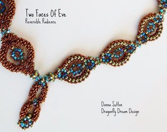 Two Faces of Eve (Reversible Radiance) Beadwork Necklace Kit