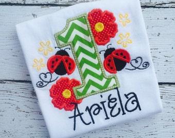 Ladybug Birthday Shirt