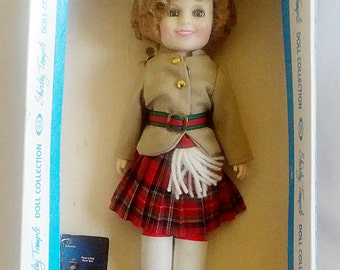 """7 1/2"""" Ideal Shirley Temple Doll Collection """"Wee Willie Winkie"""""""