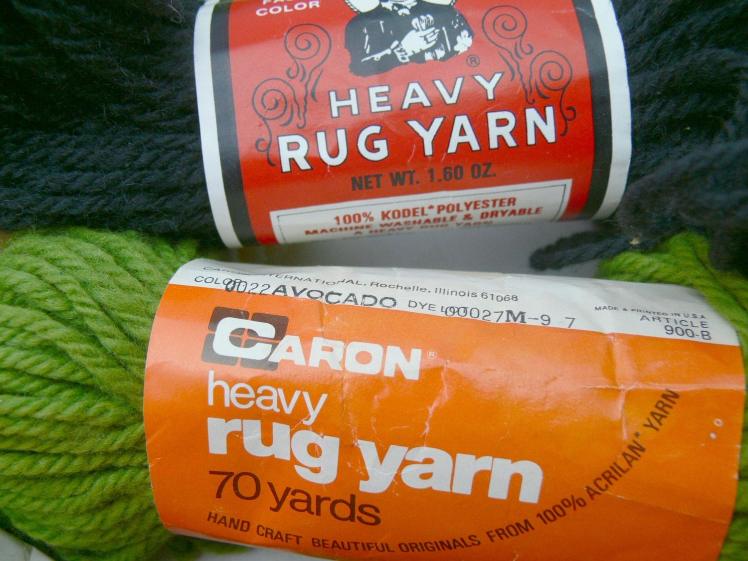 Rug Or Crochet Yarn 12 Skeins Aunt Lydia S Caron By