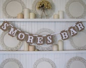 S'MORES BAR -Banner for parties, weddings and holidays