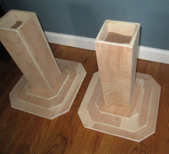 Furniture Risers 14 Inch All Wood Construction Unfinished