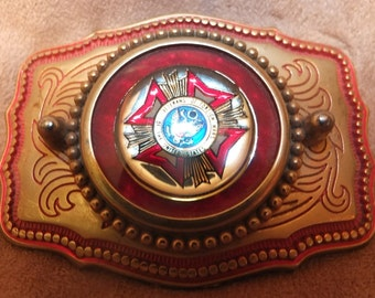 Veterans Of Foreign Wars Of The United States Belt Buckle VFW