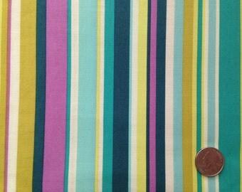 Sandy Henderson Farmer's Market Stripey 1/2 yd Premium Cotton Fabric Michael Miller