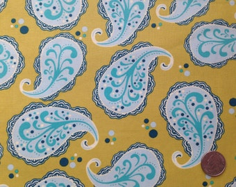 Sandy Henderson Farmer's Market Playful Paisley 1/2 yd Premium Cotton Fabric Michael Miller