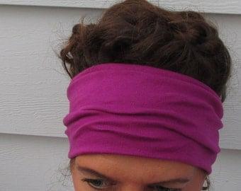 Retro Style Jersey Head Wrap // Skinny Rockabilly