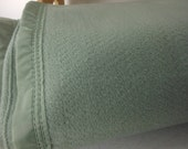 Sheet Blanket Seafoam 100% Polyester Unused