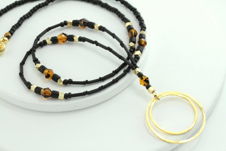 tortoise black gold eyeglass necklace tortoise eyeglass