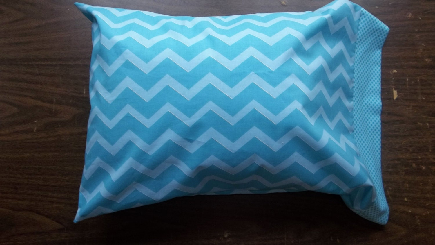 Travel pillow Case/ Toddler pillow case in 100% by crystalskye
