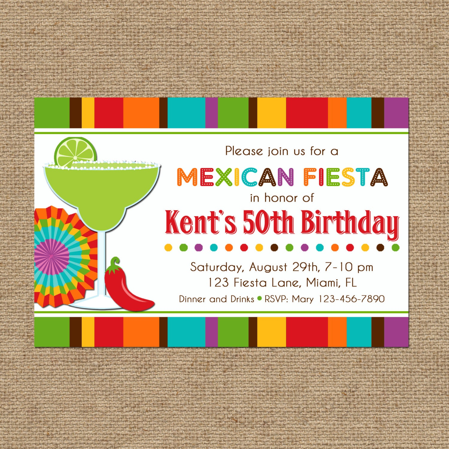 Impertinent image in free printable fiesta invitations