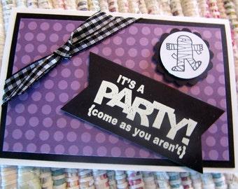 Halloween Party Invitations  Set of 8