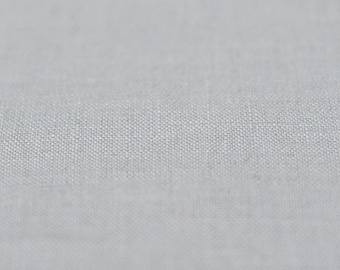 Light grey linen Pure linen fabric Softened and pre-shrunk dove grey linen flax fabric by half yard