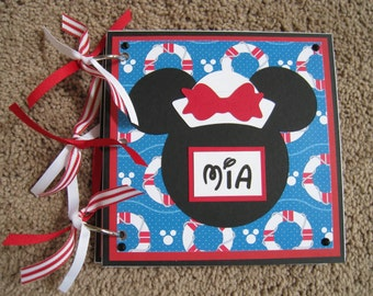 Disney Cruise Autograph / Photo Book - Minnie Mouse