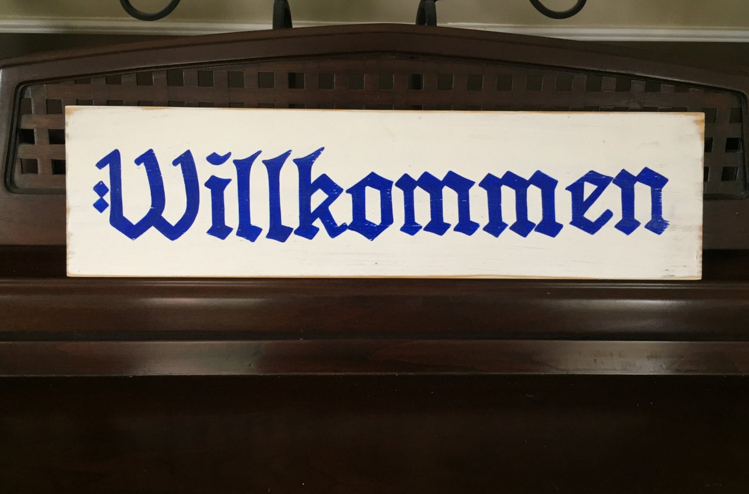 29910 together with Willkommen Wel e Sign Plaque Wooden likewise Tact Is For People Who Arent Clever Enough To Be Sarcastic also One Dozen 2 Inch Dahlia Sola Wood Flowers moreover Ein Prosit Cheers Toast To You Sign. on sage green wood sign