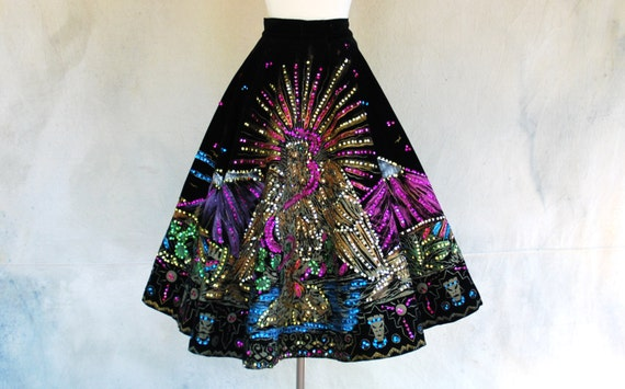 Vintage Mexican Skirt 86