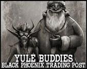 Yule Buddies - 5ml perfume: Black Phoenix Trading Post