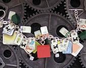 Monopoly Tin Charm Bracelet