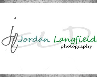 Professional Premade Logo - Watermark Small business Photography Simple