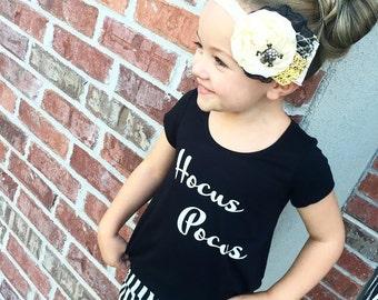 HALLOWEEN HOCUS POCUS Tee - baby, toddler, child, adult, woman, girl, fashion, shirt