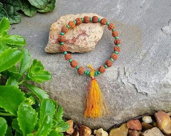 MALA TASSLE Bracelet by Moondrops /// Yoga Chic Jewelry