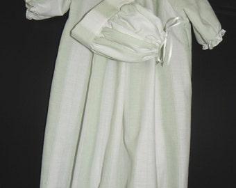 Baby Boy Day Gown Set