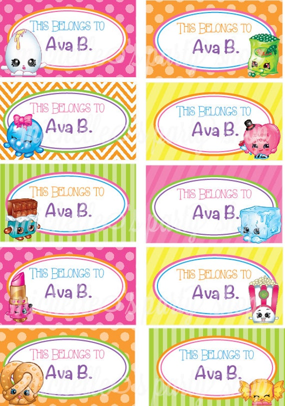 photo about Free Printable Shopkins Food Labels referred to as 70 No cost PRINTABLE SHOPKINS Foodstuff LABELS, SHOPKINS LABELS Free of charge