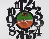 Handmade Vinyl Record Wall Clock Hanging Clock  (artist is Led Zeppelin)