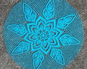 "New 27"" handmade crochet doily, table decoration"